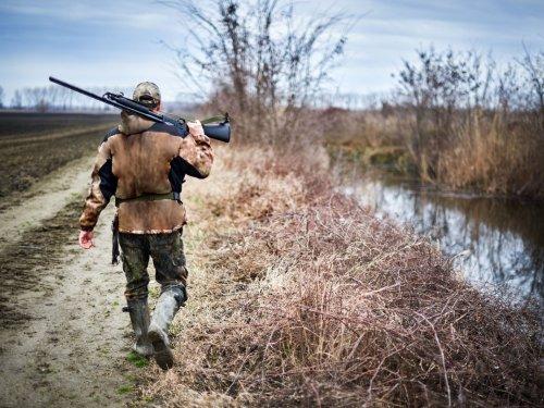 Поездка на открытие охоты.