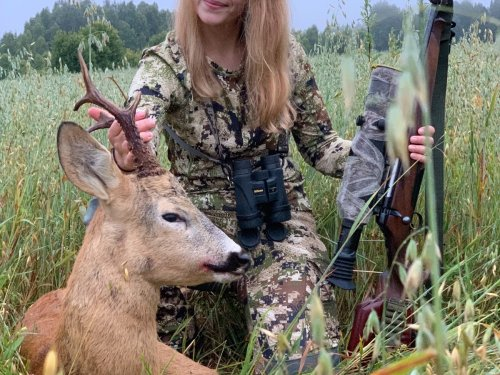 Женский взгляд на охоту на самца косули