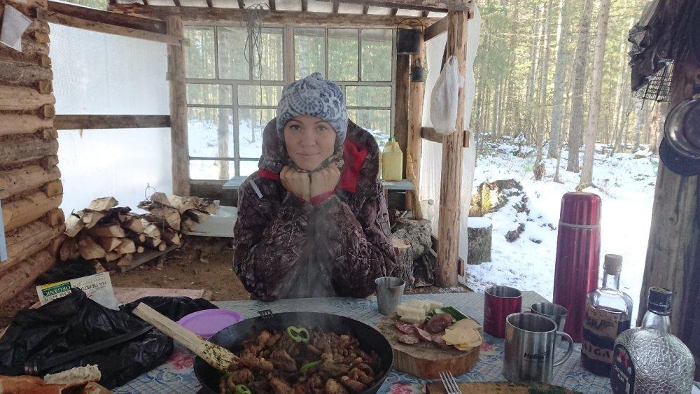 Лесной обед