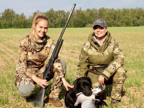«Женский взгляд на охоту». Завершение сезона охоты на вяхиря