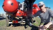 С морским сапогом на СТРИЖе 480 JET под мотором Mercury 30