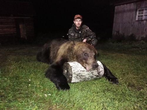 Медведь добыт!!!