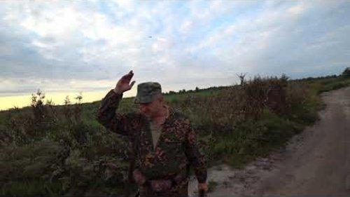 Отличная охота на утку с подхода, с чучелами
