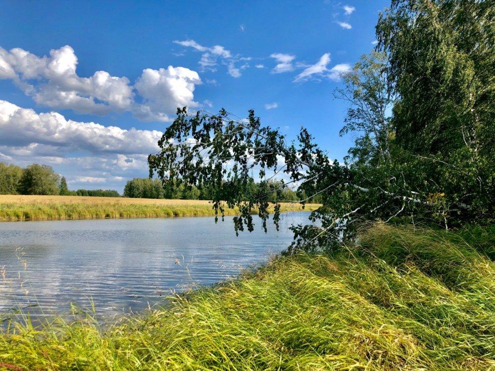 Любимое место,любимое озеро