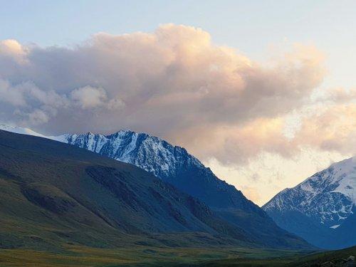 Горы - горы....