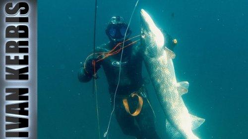 «Крокодилы Тувы 2019» | Подводная охота на щуку (Трейлер)