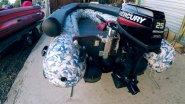 Как настроить подвесной лодочный водомет на примере Mercury 25 JET