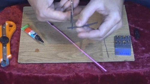 Изготовление бокового кивка для удочки