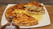 Завтрак. Пирог из лаваша, с яблоками и грушей.