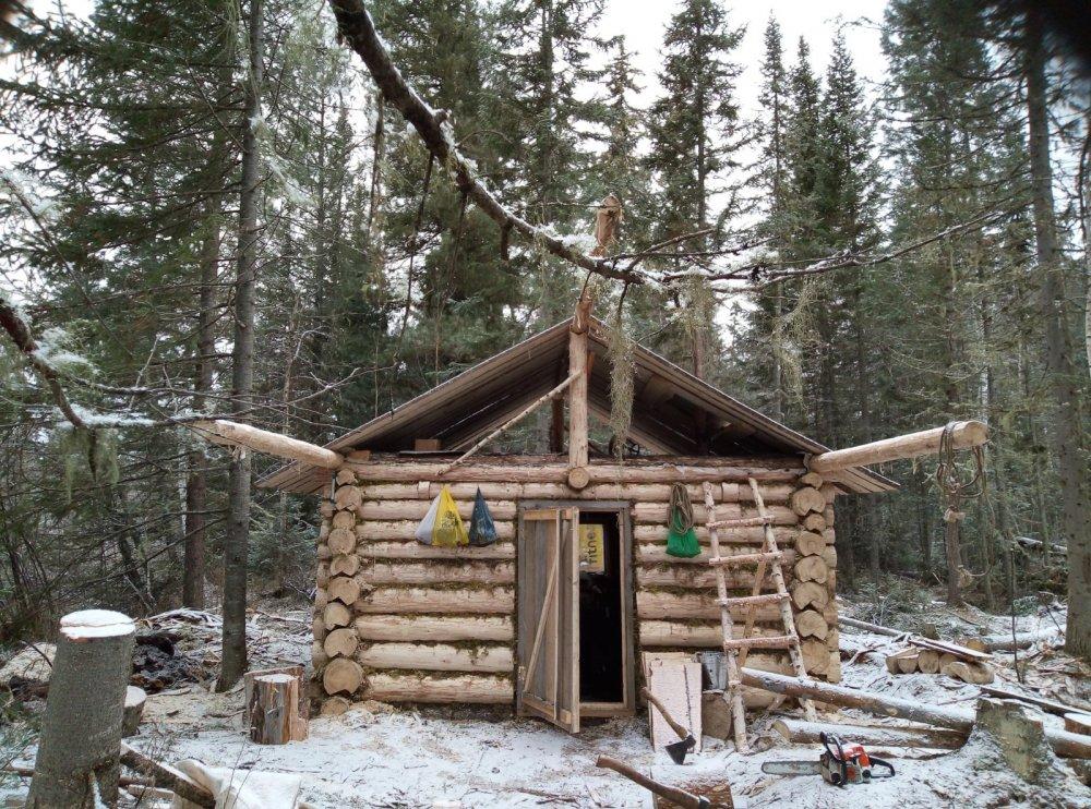 очередное зимовьё построили