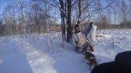 Охота на зайца с гончей #7 Джесси сбежала домой с гона!