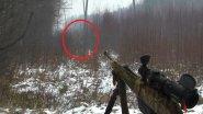 Охота на лося, но вышли олени.
