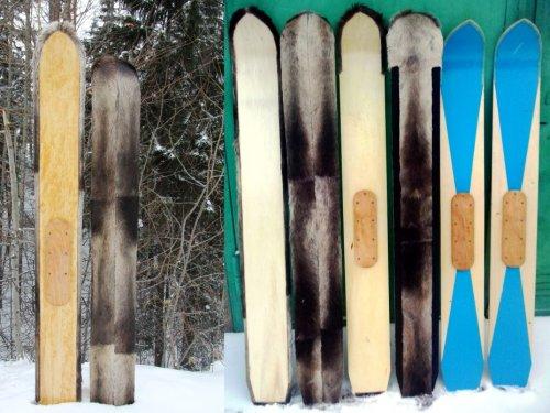 Камусовые лыжи от Бога для зимней Охоты!