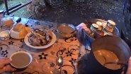 Эвенкийская таежная кухня. Утиный суп