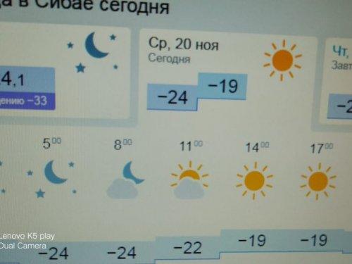 Морозный денек.