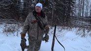 Охота в глухозимье. Хорошие выстрелы по птице. Волки опять ходят у деревни