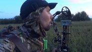 Охота на косулю с карабином и блочным луком