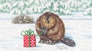 Новогодняя охота на бобра капканами! Необычный подарок от бобров к новому году!