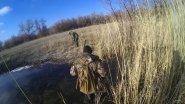 Охота на фазана с дратхаарами в декабре в Казахстане