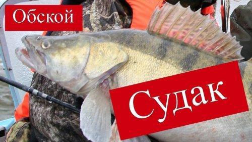 Рыбачим на Обском море в Спирино