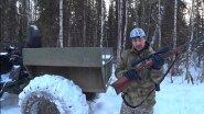 Охота на Севере. Волки хозяйничают на свалке