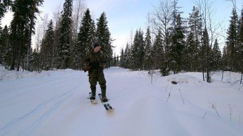 Поход в зимний лес. Проверка снаряжения. Лыжи и рюкзак
