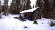 Поездка в лес на избу / Зимняя рыбалка