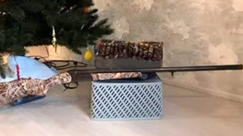 Оклейка ружья в камуфляжную пленку