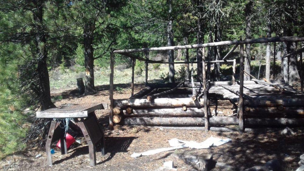 Бывший лагерь