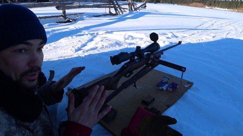 Пристрелка новой мелкашки CZ