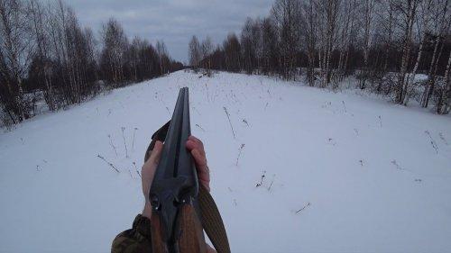 Охота на тетерева с лунок в Республике Коми. Стрельба в лет