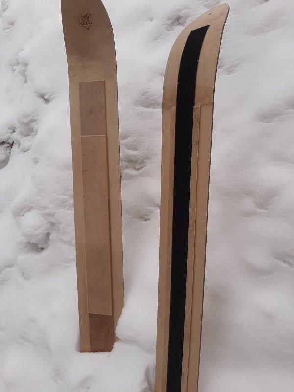 Лыжи с полозками 1
