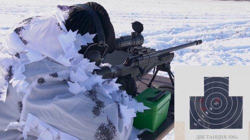 Стрельба на дистанцию 700 метров с тепловизора