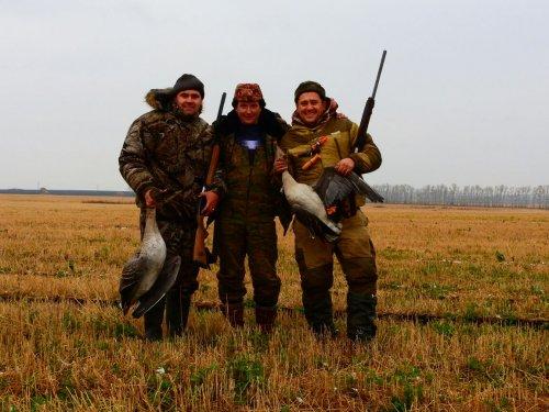 Спасибо друзья за охоту!