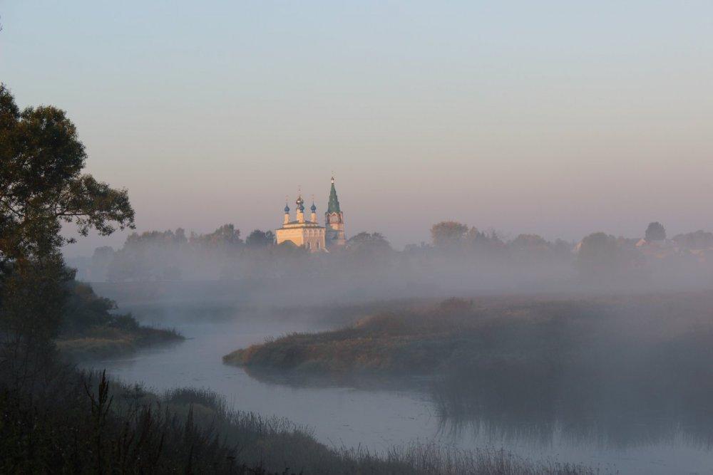 Туман- таинственно и неповторимо
