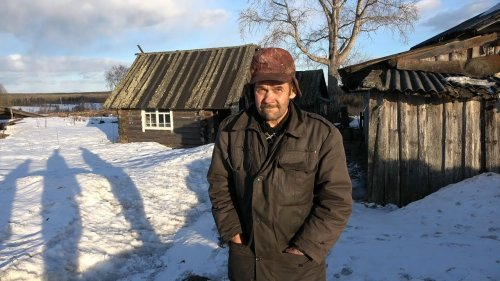 Деревня Лобановчи - Броневик. Живет один житель Александр Федорович. Республика Коми.