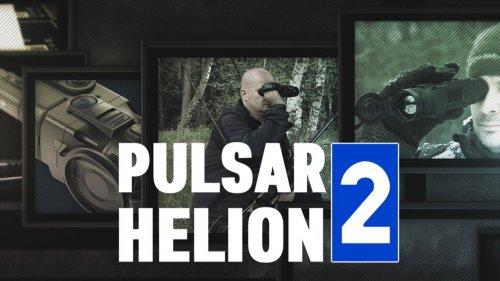 Тепловизор Pulsar Helion2 XP50 в диком лесу