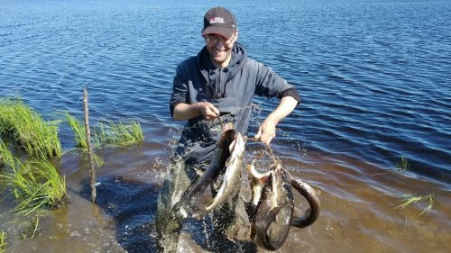 Рыбалка в Молчановском районе (Томская область)