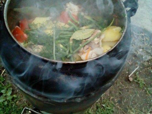 Баранинка с овощным рогу