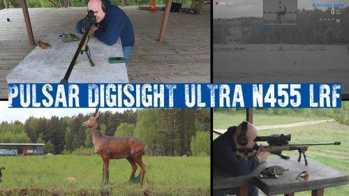 Новинка! Обзор PULSAR DIGISIGHT ULTRA N455 LRF. Пристрелка, стрельба на разные дистанции