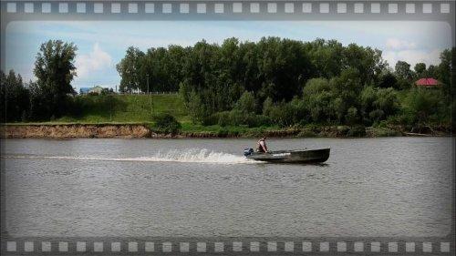 ВНИМАНИЕ! Ракета на воде! Лодка Казанка М и Merсury 25 л.с.