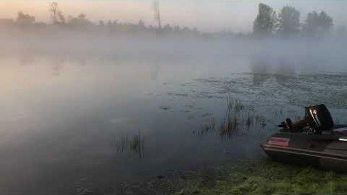 Новосибирская Область. Река Чаус. Утро