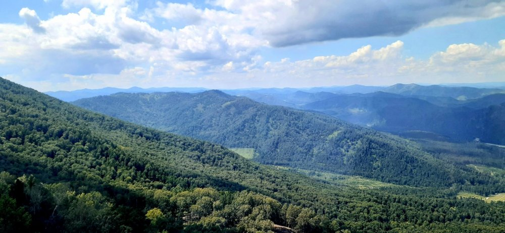 Панорама гор.
