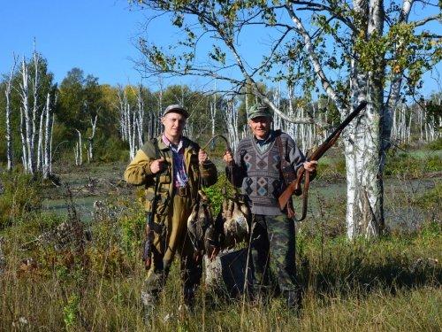 На открытии охоты