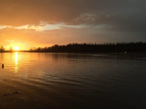 Чудесный закат