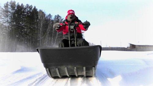 Мотобуксировщик Snowdog Twin Pro будет покорять Сибирский снег вместе с нами!