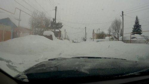 Ниссан Террано и глубокий снег в гору!