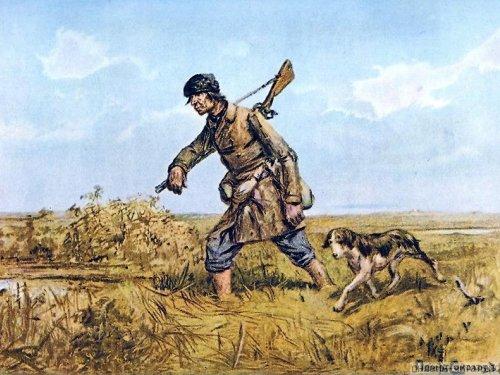 Молодым охотникам. Не ищите приключений на свой зад.