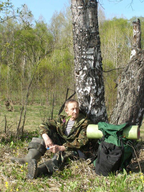Весна, открытие охоты. Ружьё сдал, но так охота!