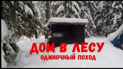 Один в лесу - мой дом в лесу заметает снегом \ Bushcraft или лесное выживание